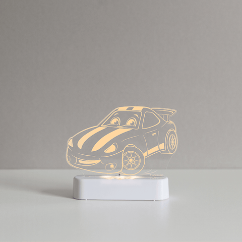 Aloka LED Sleepy Light - Race Car