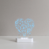 Aloka LED Sleepy Light - Loveheart