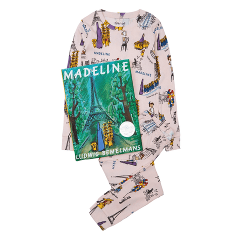 Madeline Pajamas and Storybook Set