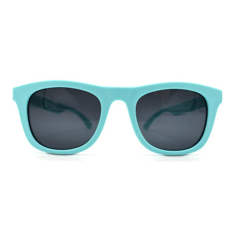 Kids Polarised Unbreakable Sunglasses - Minty Green