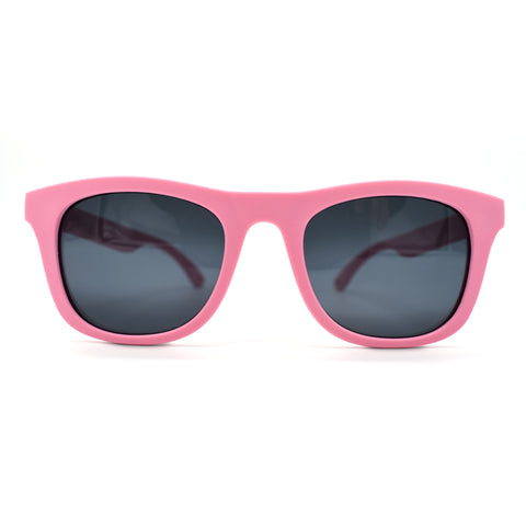Kids Polarised Unbreakable Sunglasses - Peachy Pink