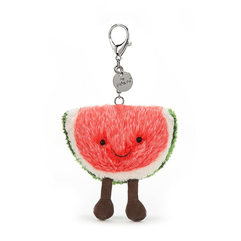 Jellycat Amuseable Bag Charm | Watermelon