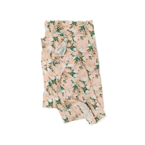 Muslin Swaddle - Blushing Protea