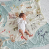Muslin Swaddle - New York
