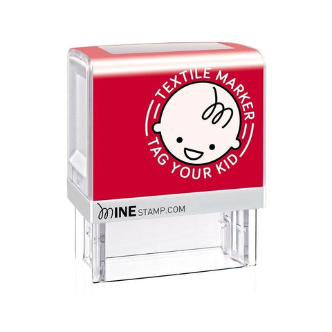 Mine Self-Inking Clothing Name Stamp