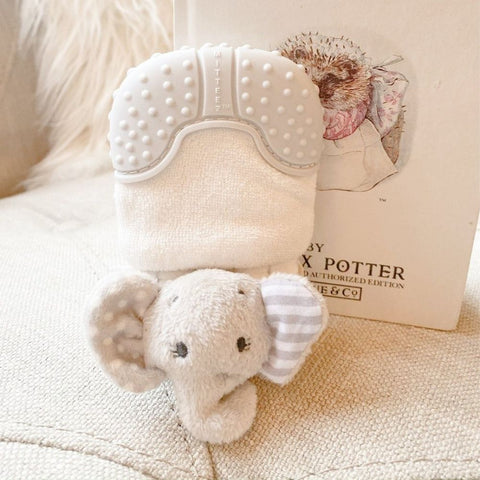 Mitteez Organic Teething Mitten - Ella the Elephant