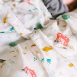 Muslin Swaddle - Animal Farm