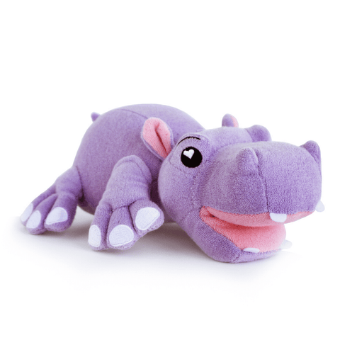 SoapSox Harper the Hippo Bath Toy Sponge
