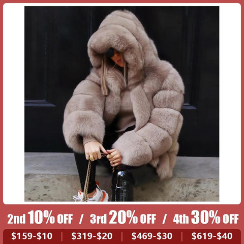 Autumn and winter fashion imitation wool solid color Teddy coat