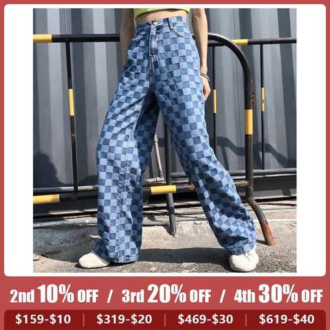 Fashion Check Women's Pants