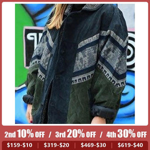 Casual ladies lapel warm jacket RY31