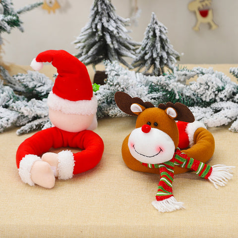 Christmas cartoon doll curtain buckle decoration