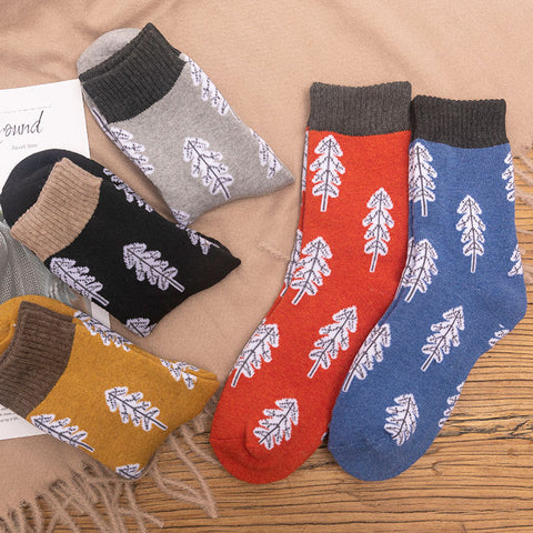 Breathable sweat-absorbent cartoon socks
