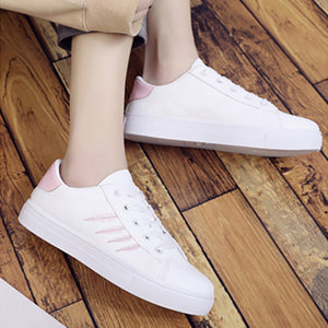 Literary flat round head casual shoes
