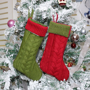 Christmas stocking shaped candy bag Christmas tree ornaments