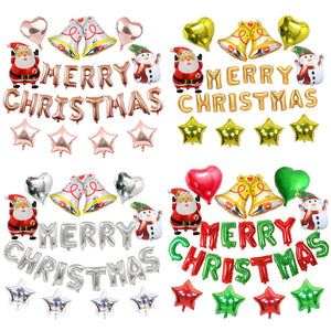 Merry Christmas Christmas party decoration balloons