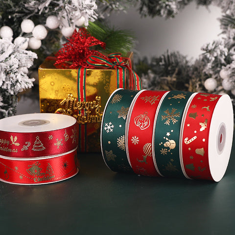 Christmas snowflake tree packaging ribbon gift handmade diy decoration