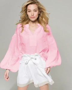Cherry Blossom color India Blouse. Pre Order
