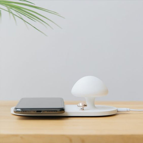 Mushroom Wireless Light Charger