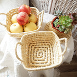 Cornleaf Square Basket (S)