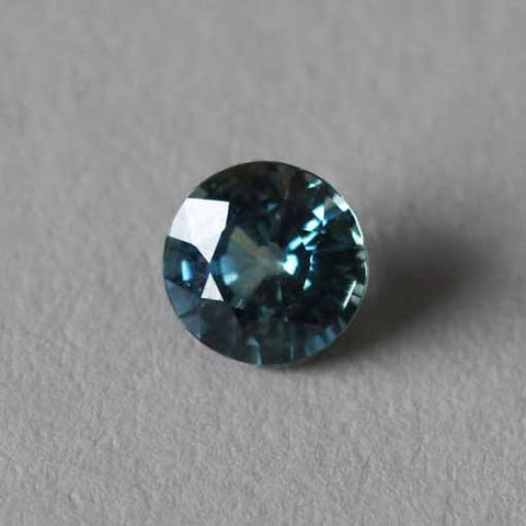 Ethical traceable teal sapphire EC One