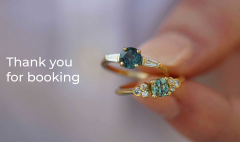 Thank you for booking a bespoke appointment with EC One Jewellers London