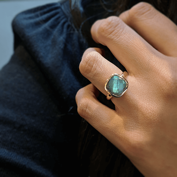 Labradorite Lauren Ring
