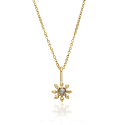 EC One Natalie Perry  Diamond Flower Necklace