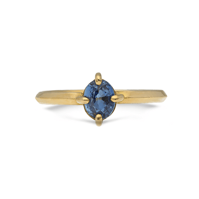 ELLIE AIR x EC ONE - Polaris Blue Sapphire Ring 18ct Yellow Gold