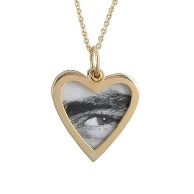 18ct Gold Heart Picture Locket