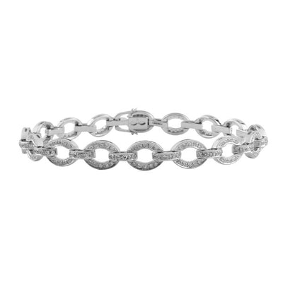 Diamond Links Bracelet