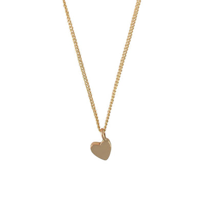 EC One Mini Heart recycled Gold Necklace