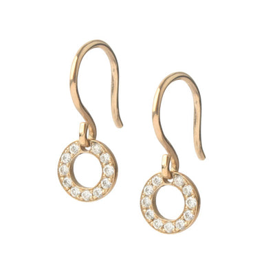 Diamond Polo Drop Earrings