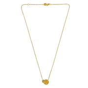EC One 'Beat' Gold Double-Disc Necklace