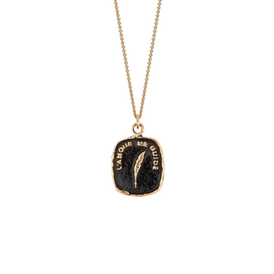 Pyrrha EC One Love Guides Me 14ct Yellow Gold Necklace