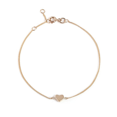 EC One Mini Heart recycled Gold Bracelet
