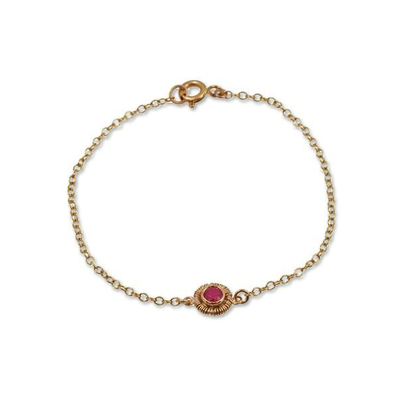 Ruby Wrap Gold Tresor Bracelet