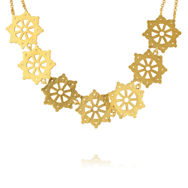 Flower Collar Necklace