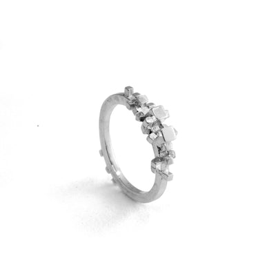 Silver Rubble Ring