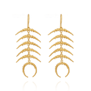 Statement Celestial Gold Earrings