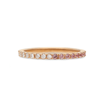 ELLIE AIR x EC ONE - Dawn to Dusk Ring 18ct Rose Gold