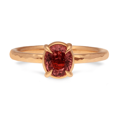 Alice Redish-Pink Ethical Sapphire Engagement Ring Recycled Rose Gold