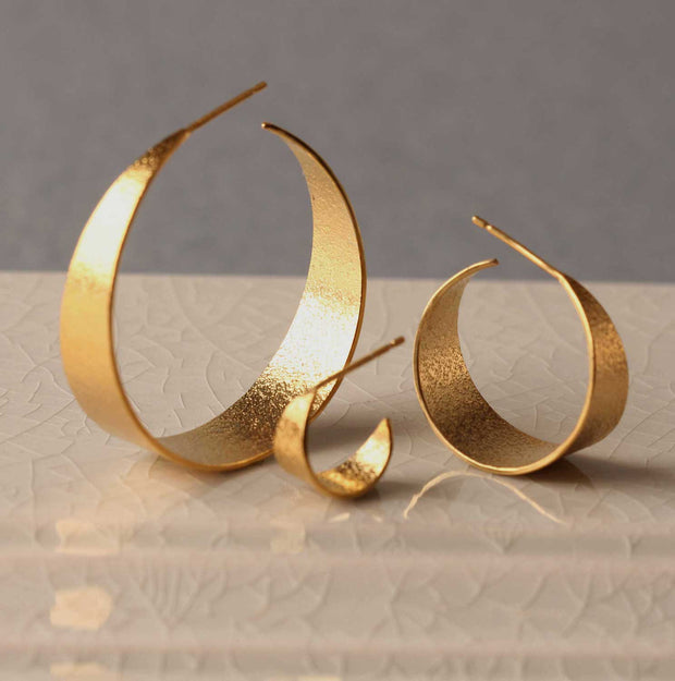 Cara Tonkin Icarus Gold Plated Hoops at EC One