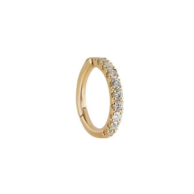 EC One Metier SINGLE Diamond set Clicker Hoop