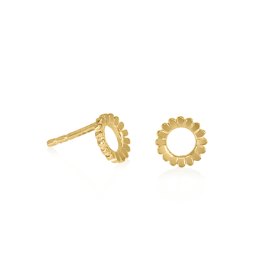 Lakshmi Hoop Stud Earrings