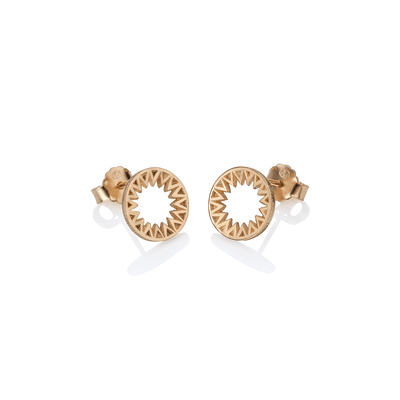 Taxila Hoop Stud Earrings