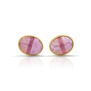 Ruby Gold Studs