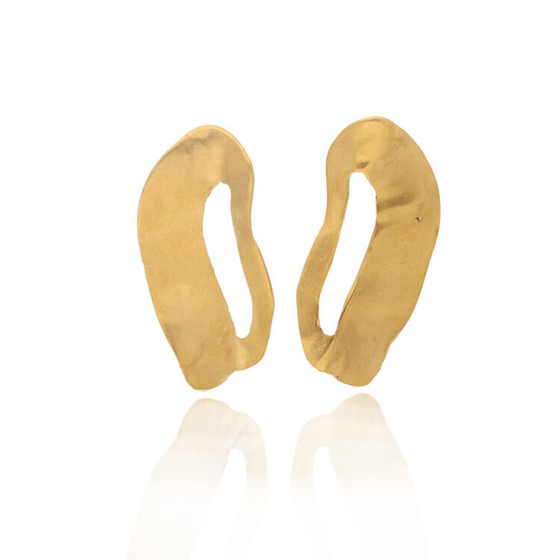 Ella Stern Chance Large Studs Gold Plated