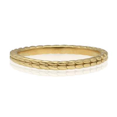Fine Tagmata Wedding Ring 18ct Gold