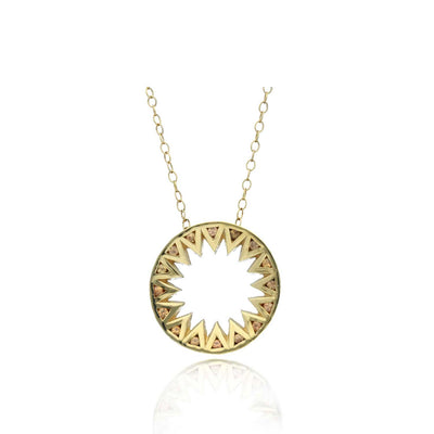 Taxila Necklace Yellow Sapphire Necklace